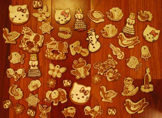 Świąteczne pierniki - produkcja domowa !