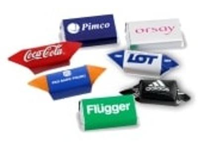 Cukierki reklamowe krówki słodycze firmowe promocyjne z logo